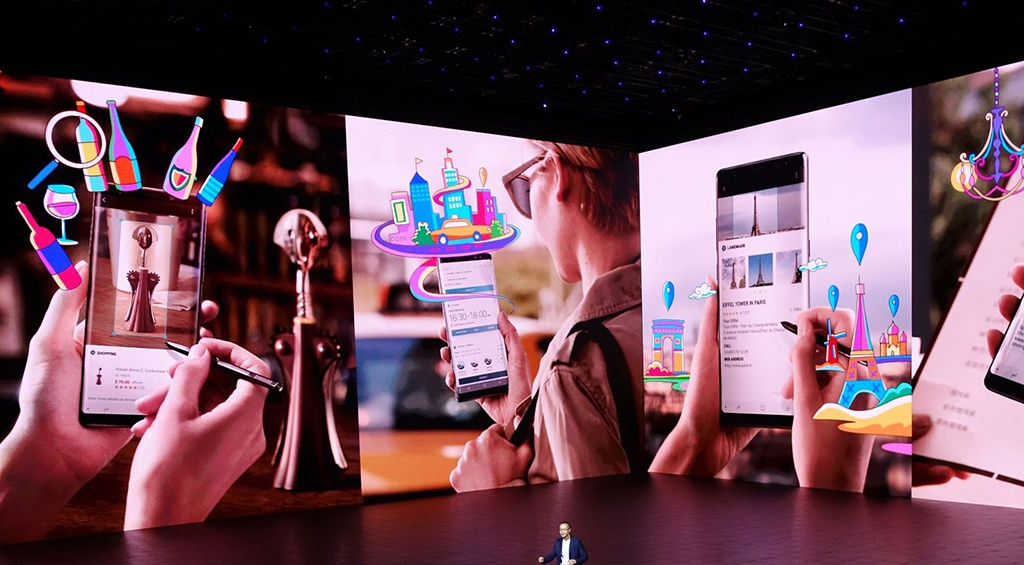 """Samsung"" компани ""Galaxy Note 8""-аа танилцууллаа"